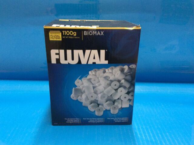 fluval biomax bio rings media 1100g ebay