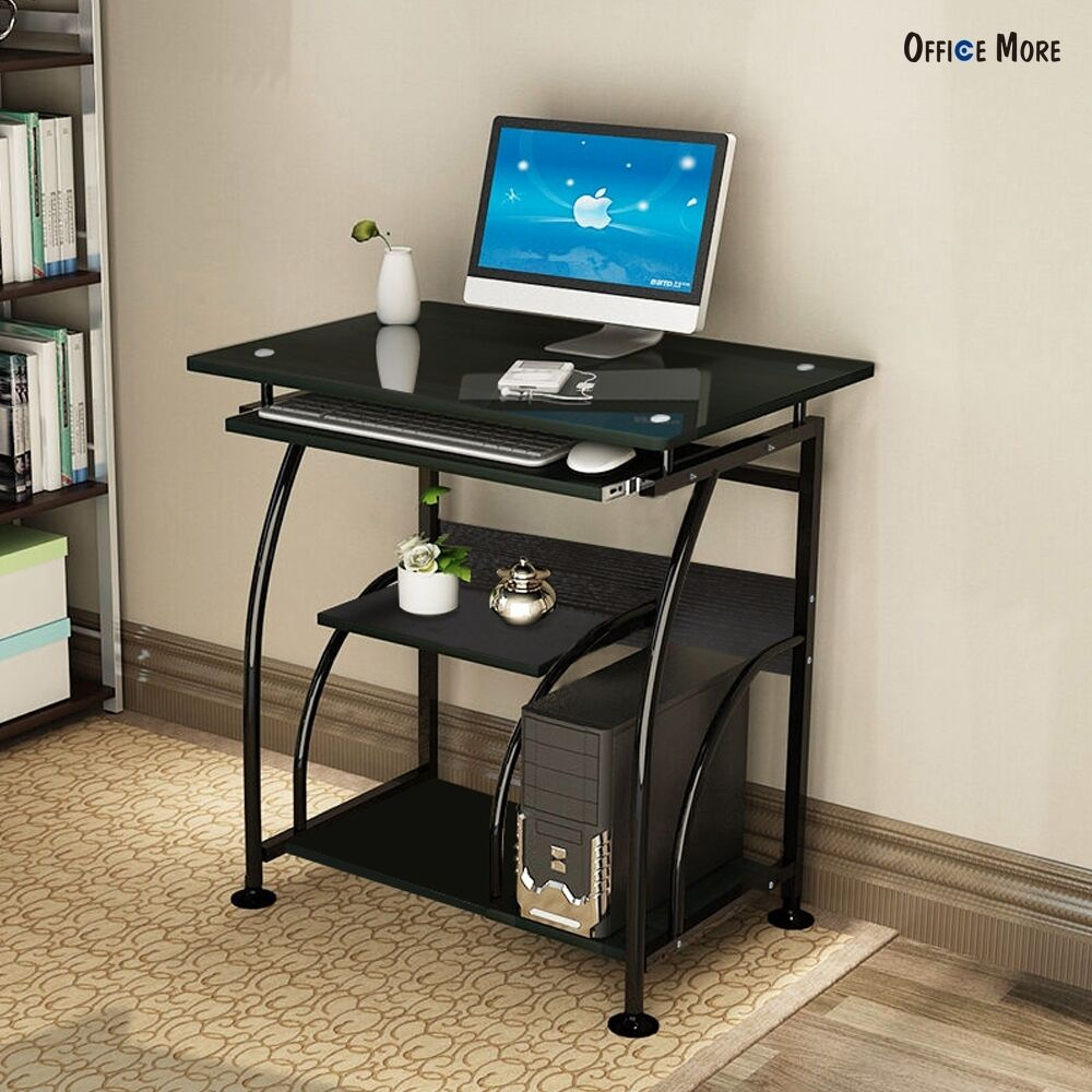 Picture 1 of 11. Home Office PC Corner Computer Desk Laptop Table Workstation