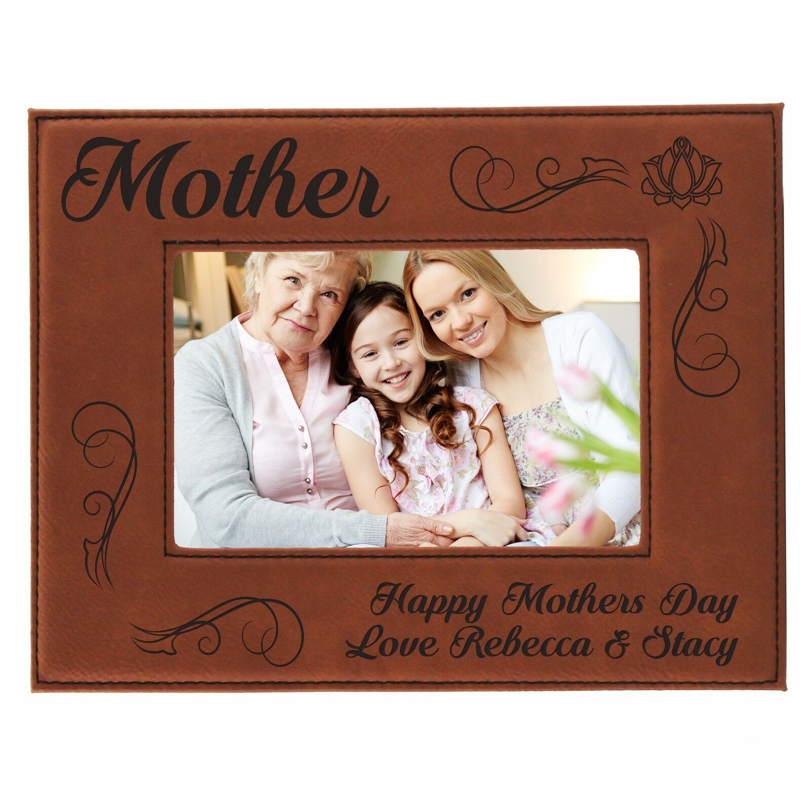 Personalized 8 X 10 Mom Picture Frame - Custom Mothers Day Gift for ...