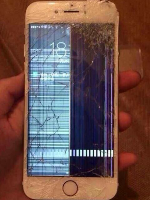 Sell Iphone  Broken Screen
