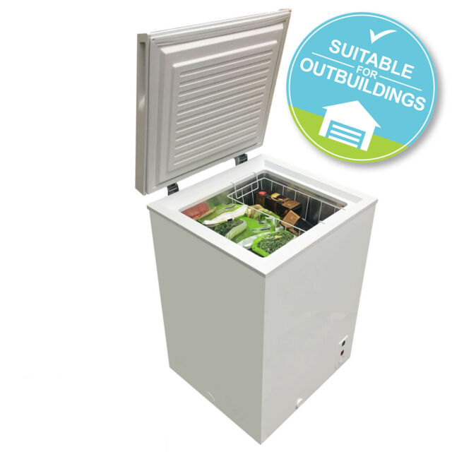 SIA CFR100WH Chest Freezer In White   106 Litres Capacity   A+ Energy Rating
