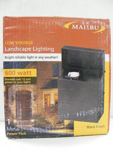 1 & Malibu 600 Watt Transformer Power Pack-low Voltage Landscape ... azcodes.com