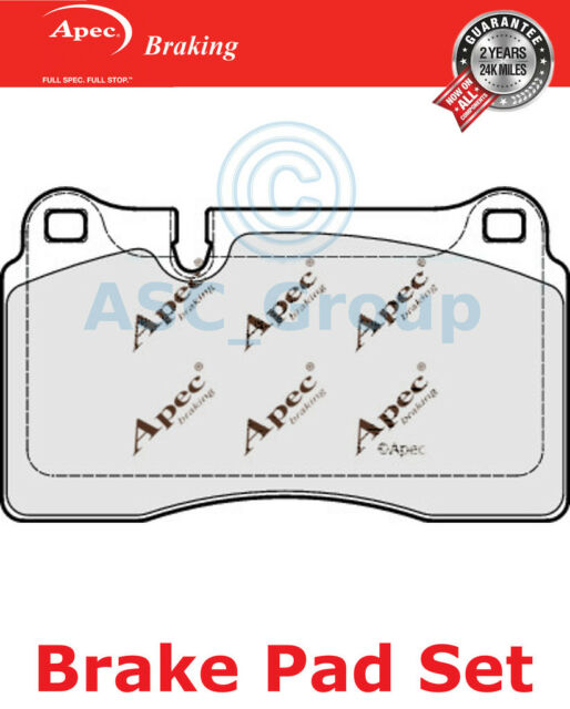 Apec Front Brake Pads Set OE Quality Replacement PAD1849