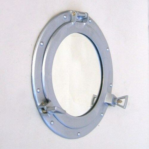decor mirrors images wall porthole mirror home brown antique s nautical finish metal windows ship iron best captjimscargo pinterest and on