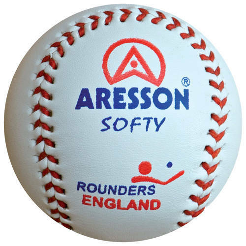 Aresson Soft Rounders Baseball Leather Practice Ball Rounders England Approved