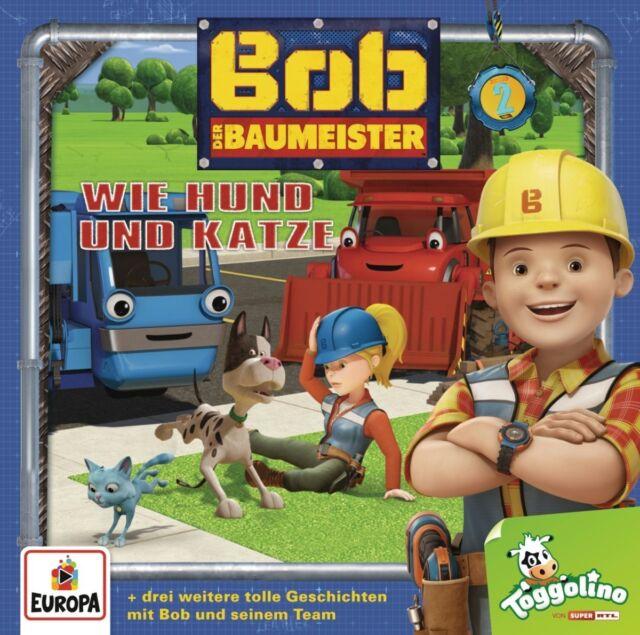 CD * BOB DER BAUMEISTER - HÖRSPIEL / CD 02 (WIE HUND UND KATZE) # NEU OVP =