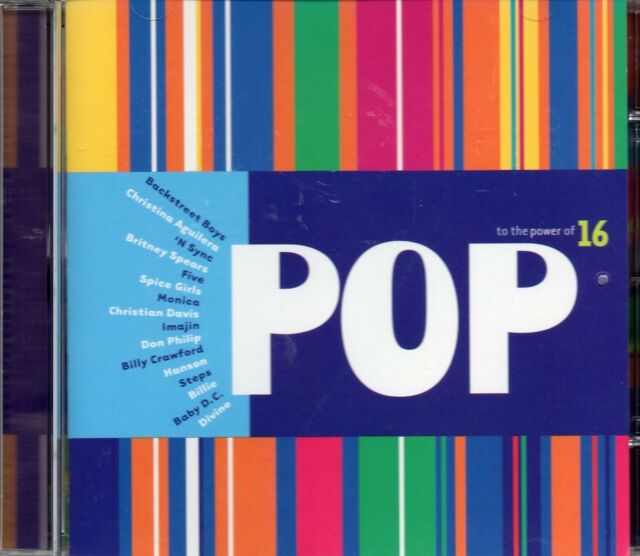 Pop To The Power Of 16 (1999 CD) Spice Girls/Britney Spears/Christina Aguilera