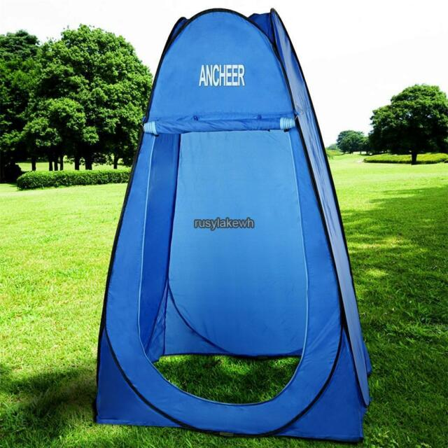 Portable Pop Up Tent C&ing Beach Toilet Shower Changing Outdoor Dressing Room & Portable Pop up Tent Camping Beach Toilet Shower Changing Outdoor ...