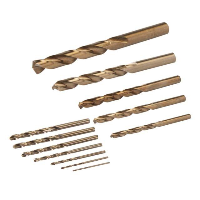 1 - 13 mm Kobaltbohrer HSSE Co5 DIN 338 Metallbohrer Edelstahlbohrer 11928