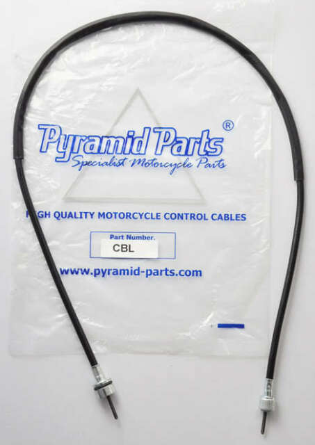 Pyramid Parts Speedo Cable fits:  Yamaha XS400 -2 1979
