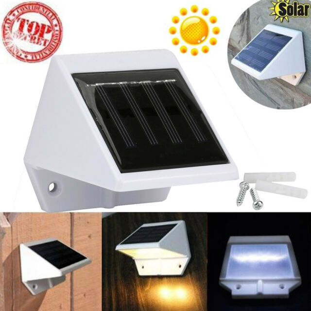 4 led solar powered stairs fence garden security lamp outdoor led solar powered stairs fence garden security lamp outdoor waterproof light aloadofball Choice Image