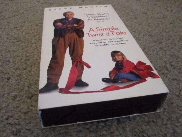 A Simple Twist of Fate (VHS, 1995) STEVE MARTIN