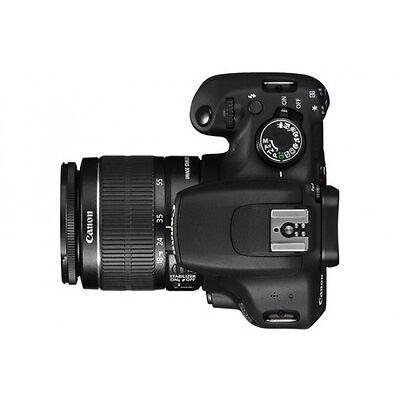 Canon EOS 1200D 18.0 Megapixels Digital Camera - Black (Kit w/ EF S 18-55mm IS II Lens)