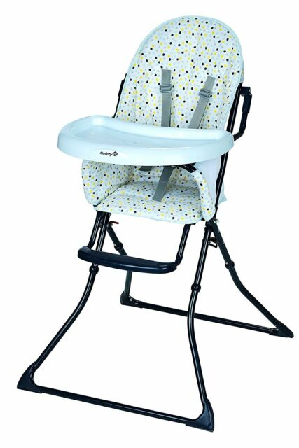 High chair Baby Foldable Compact 5 Points security Safety 1st Kanji Novelty  sc 1 st  eBay & High Chair Baby Foldable Compact 5 Points Security Safety 1st Kanji ...