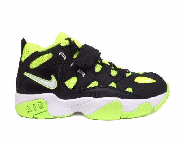 Nike Big Kids' AIR TURF RAIDER Grade School Shoes Black/Volt 599812-007