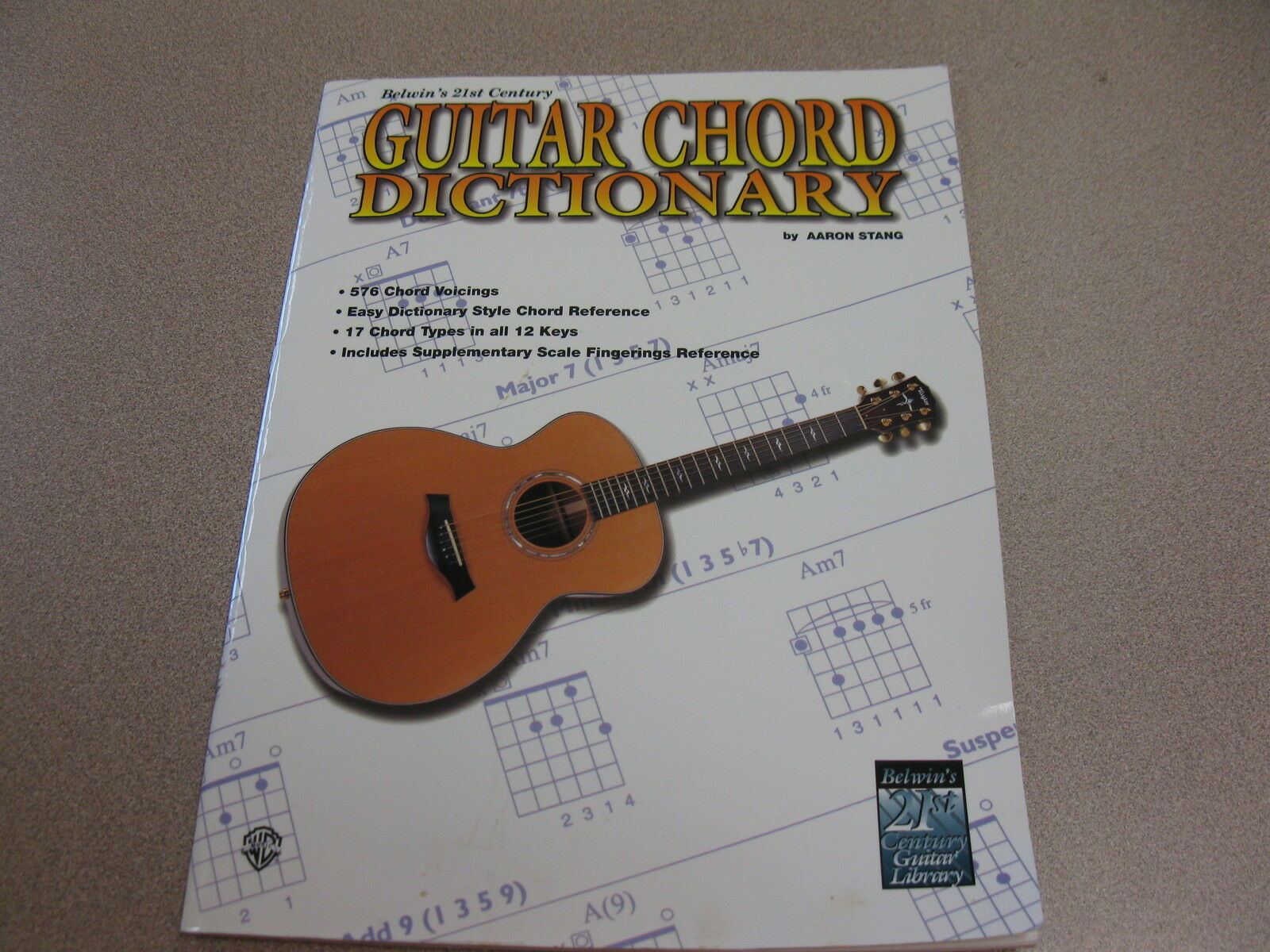 21st Century Guitar Course 21st Century Guitar Chord Dictionary