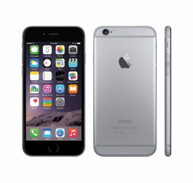 Apple iPhone 6 - 64 Go gray - scellé - débloqué - garantie