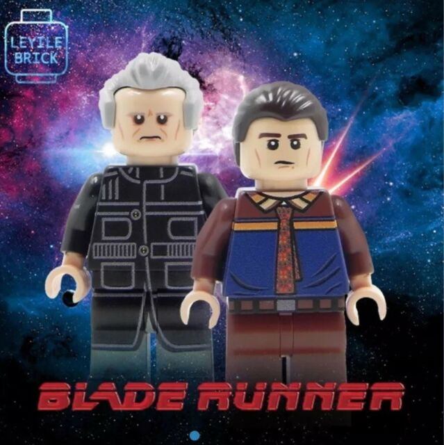 Brick Custom Blade Runner Lego Minifigure Set of 2   eBay