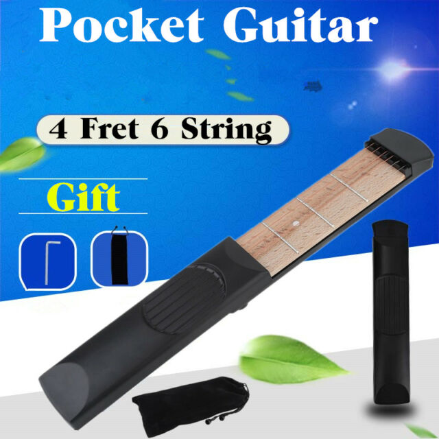 Portable Travel Pocket Guitar Practice Tool Gadget Guitar Chord ...