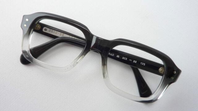 Menrad Kultfassung 60er Oldschoolbrille echte Nerd 48-18 Kunststoff cool size M