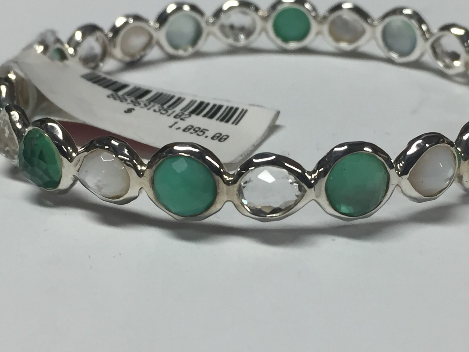 three product bangle jewelry petite bracelet gallery judith green quartz sterling la lyst silver braceletgreen stone ripka