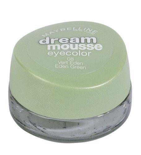 Maybelline Lidschatten Dream Mousse Augenfarbe 08 Eden grün Gel Creme
