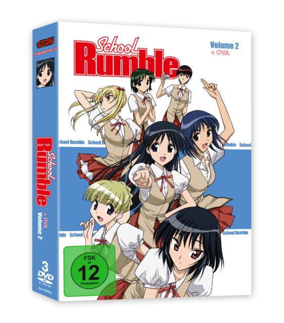 School Rumble - DVD-Box Vol. 2