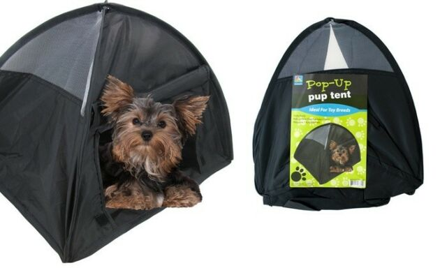 Pop Up Puppy Tent For Traveling Or C&ing 14  Small Dog Puppy BRAND NEW  sc 1 st  eBay & Pop up Pup Tent Ideal for Small Breeds Dogs and Puppies Boou0027s Pet ...