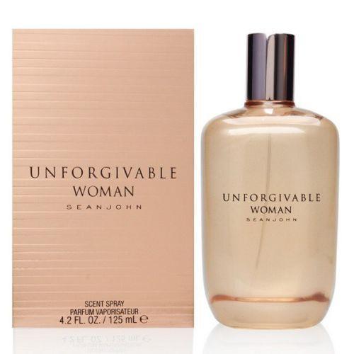 Sean John Unforgivable Woman Eau De Parfum Spray 125ml - New