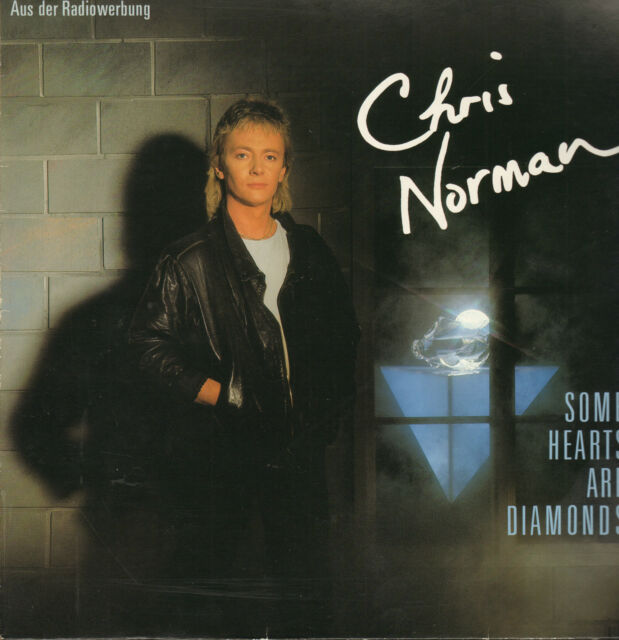 CHRIS NORMAN - Some Hearts Are Diamonds       LP      VG++