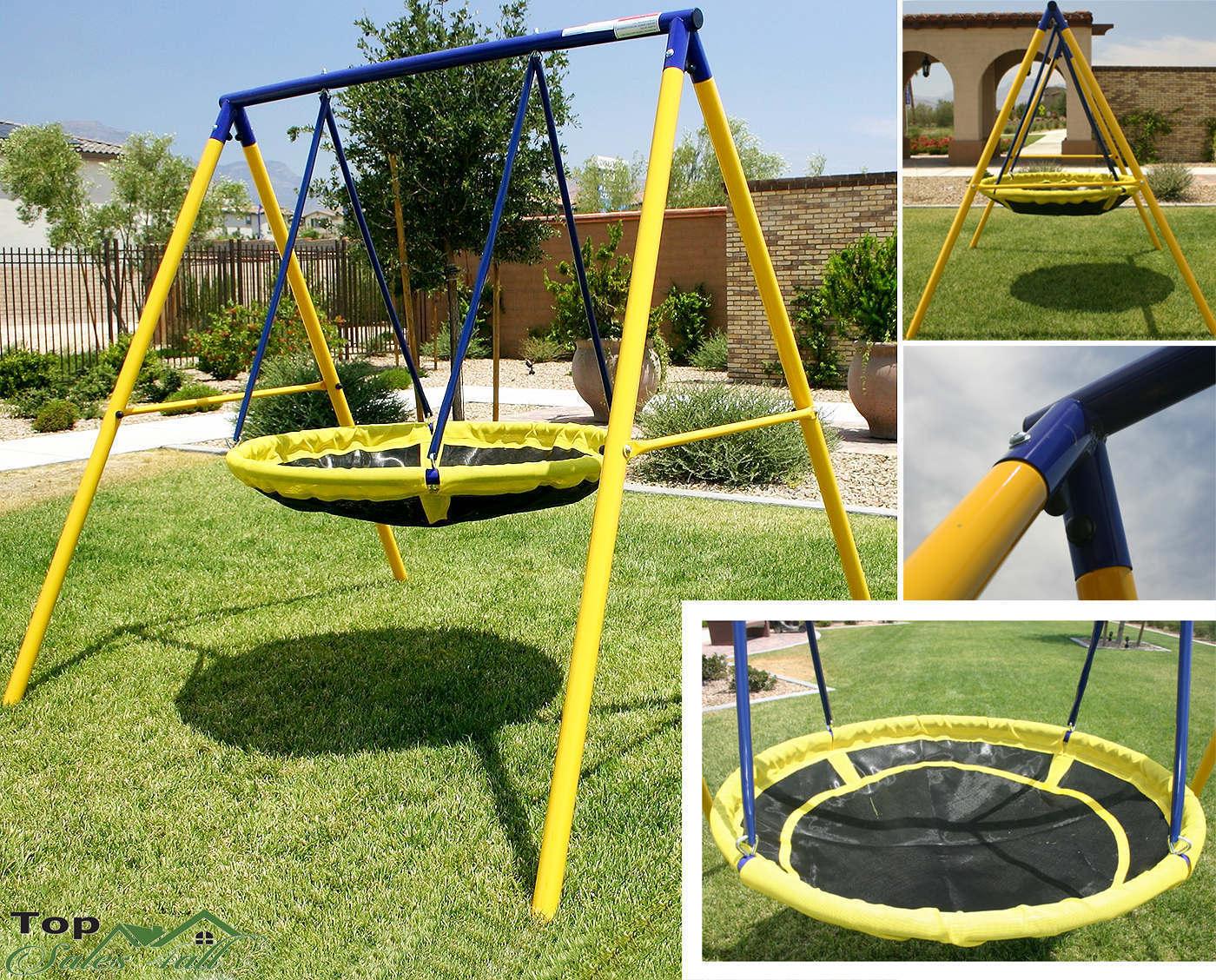 swing sets for backyard playground children round yard kids