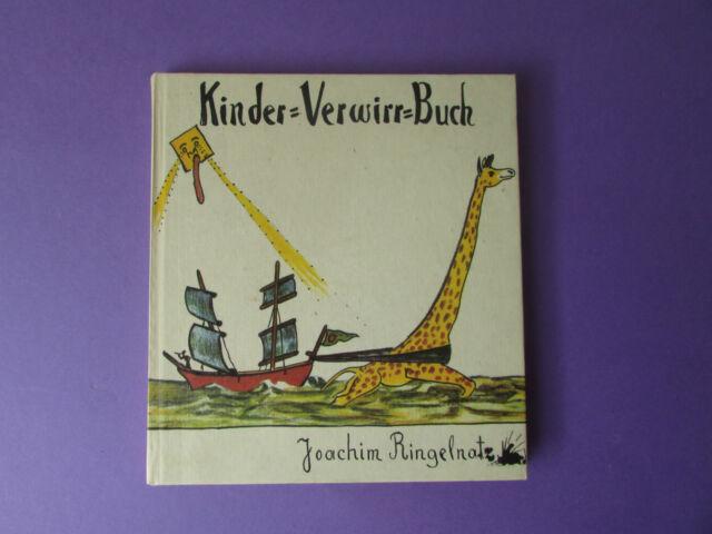 DDR Kinderbuch Buch Kinder-Verwirr-Buch Joachim Ringelnatz Nachdruck 1. Auflage