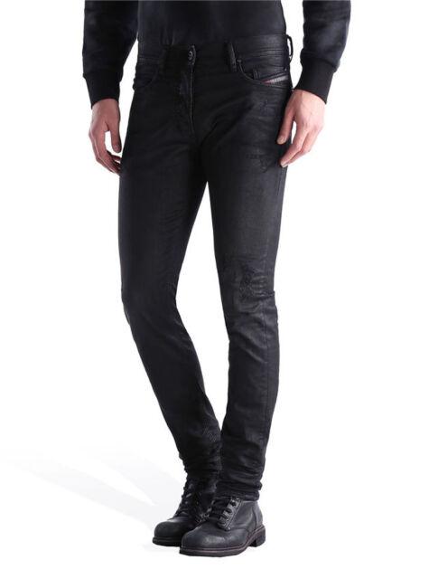 diesel jeans tepphar 671e slim carrot men black 32 32 ebay