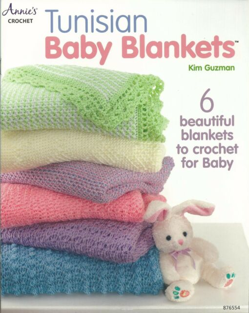 Annie\'s Attic Tunisian Baby Blankets to Crochet Pattern Leaflet 6 ...