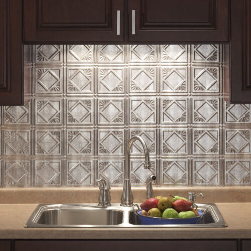 Kitchen Backsplash Decorative Vinyl Panel Wall Tiles Bathroom