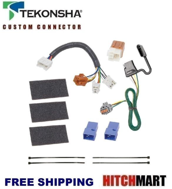 tekonsha trailer hitch tow wiring for 2005 2015 nissan xterra 118525 rh ebay com nissan xterra trailer hitch wiring installation 2012 nissan xterra tow hitch wiring