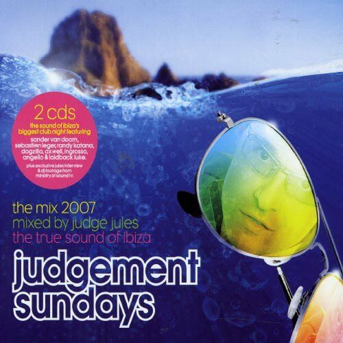 Judge Jules (Mixed by) – Judgement Sundays - The Mix 2007  (2CD) NEW SPEEDYPOST