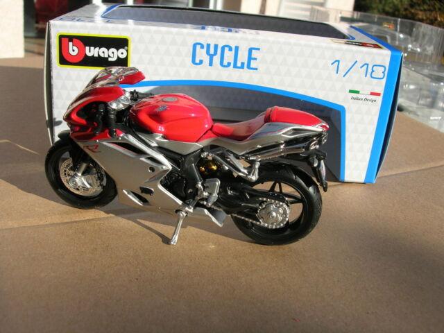 BURAGO 1/18 MOTO MV Agusta F4 !!!
