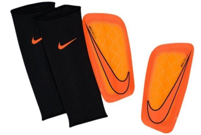NIKE Mercurial Lite, Soccer Shin Guards, Size: (L/G),