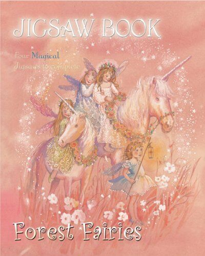 Forest Fairies Jigsaw Book,
