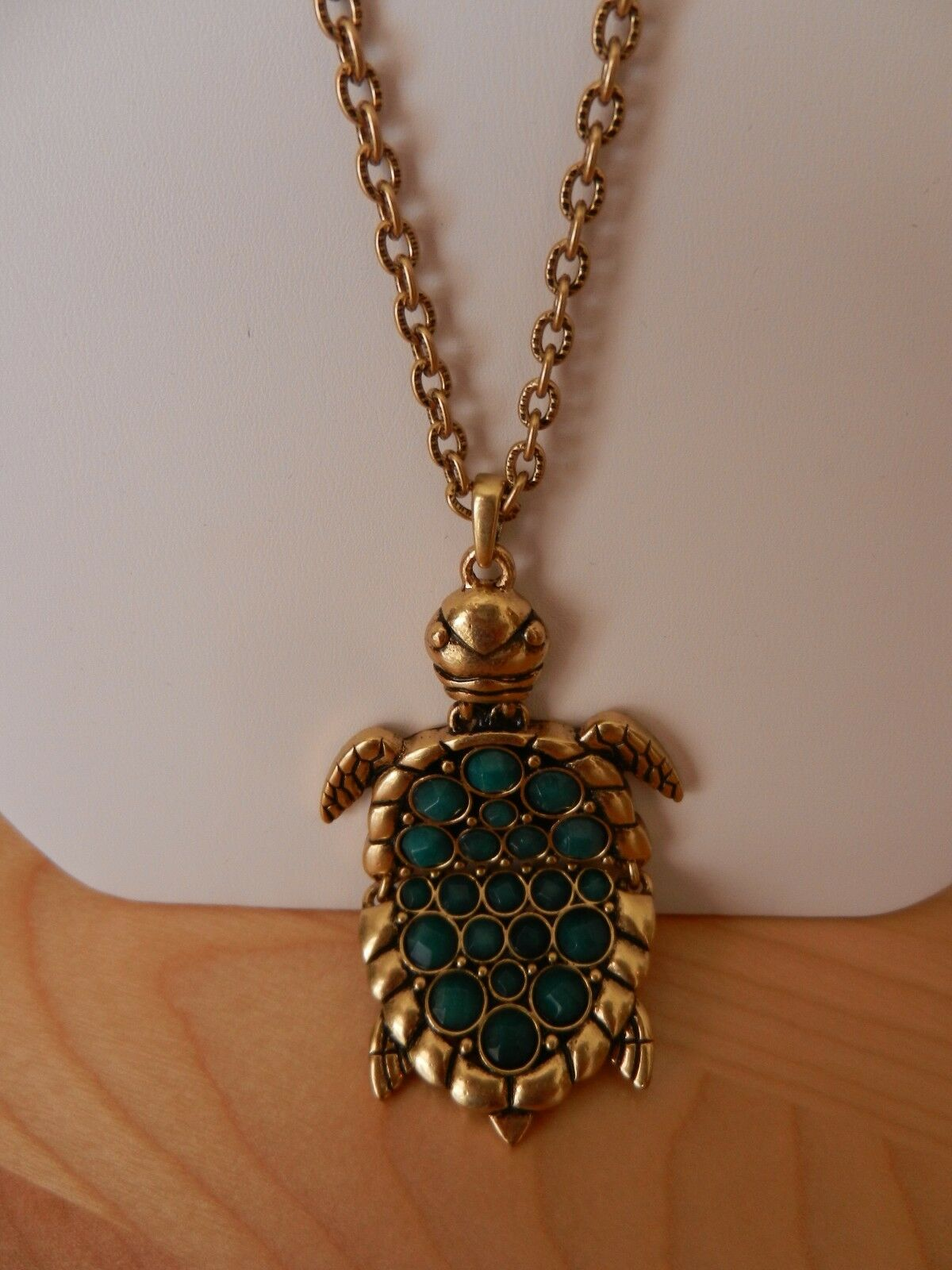 black big image products for pendant women color stone abmhjewelry product vintage green gold gothic necklace