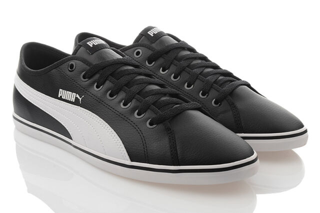 PUMA ELSU v2 SL da Scarpe Uomo Sneaker Scarpe da SL ginnastica Nero Bianco sale 359942 08 fb8535
