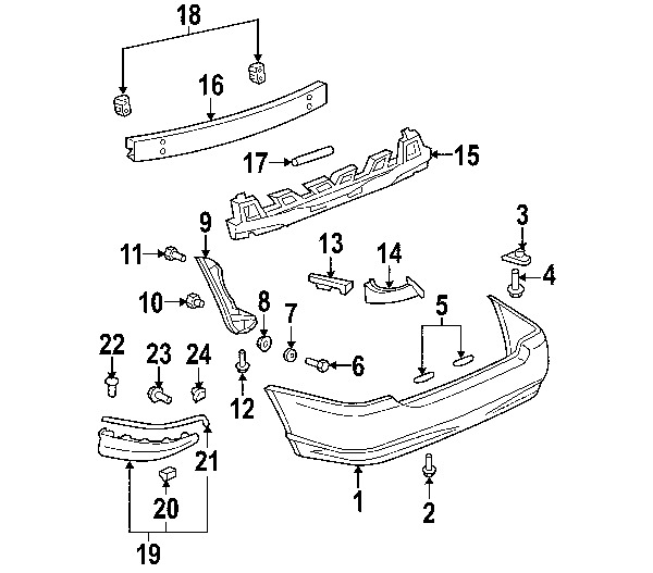 Schematic For 2003 Toyota Corolla Rear Bumper Wiring