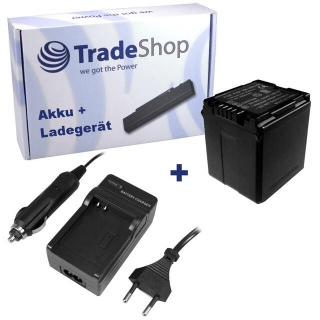 AKKU + LADEGERÄT für Panasonic HDC-HS200 HDC-SX5 HDC-HS250 HDC-HS300