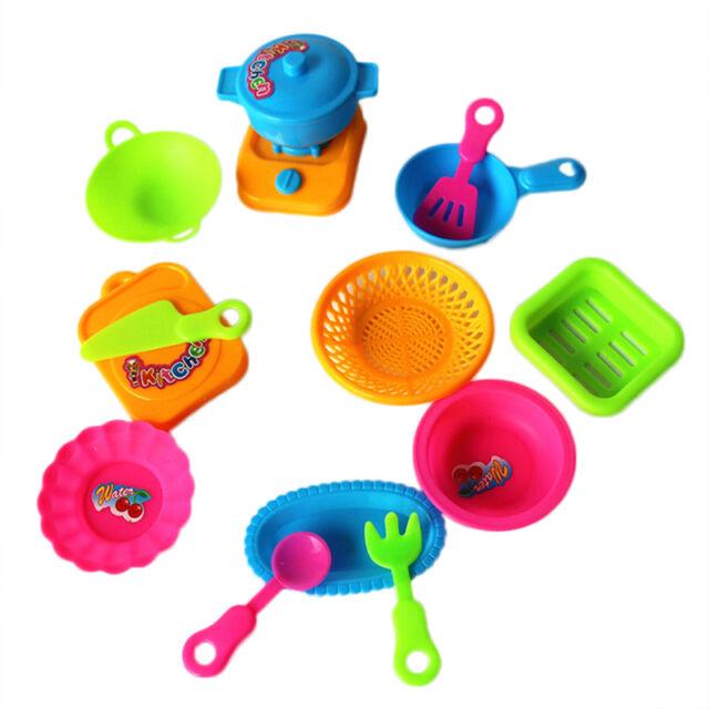 15pc kids children deluxe kitchen cooking pretend play toy kids