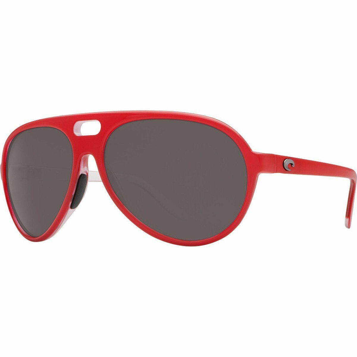 Costa Del Mar Grand Catalina Polarized Sunglasses Red Gray Lens 580p ...