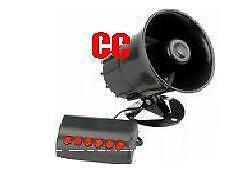 Car van & boat horn siren 6 novelty tones VERY LOUD GIZMO GIFT show FUN