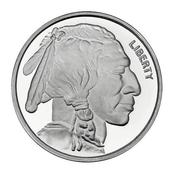 Apmex 1 Oz Silver Buffalo Round 999 Fine Ebay