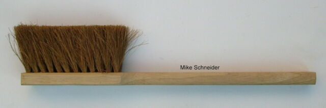 Langstielhandfeger Kokos Holzgriff ca. 46 cm lang Handfeger Feger 4 Stück