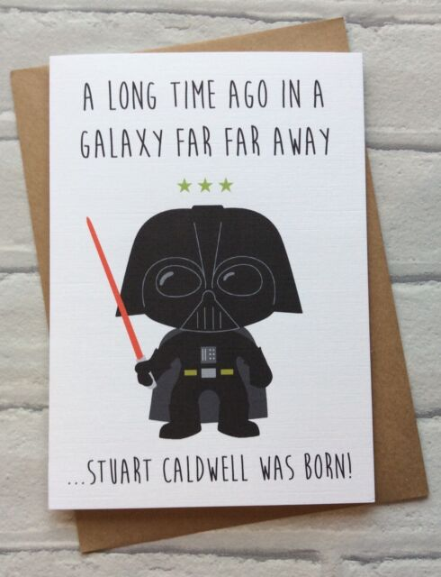 Star Wars Birthday Card – Lego Star Wars Birthday Cards